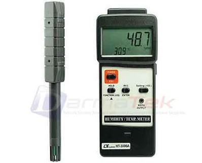 Darmatek Jual Lutron HT-3006A Digital Humidity Meter