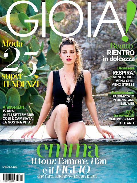 Singer, @ Emma Marrone - Gioia!, September 2016