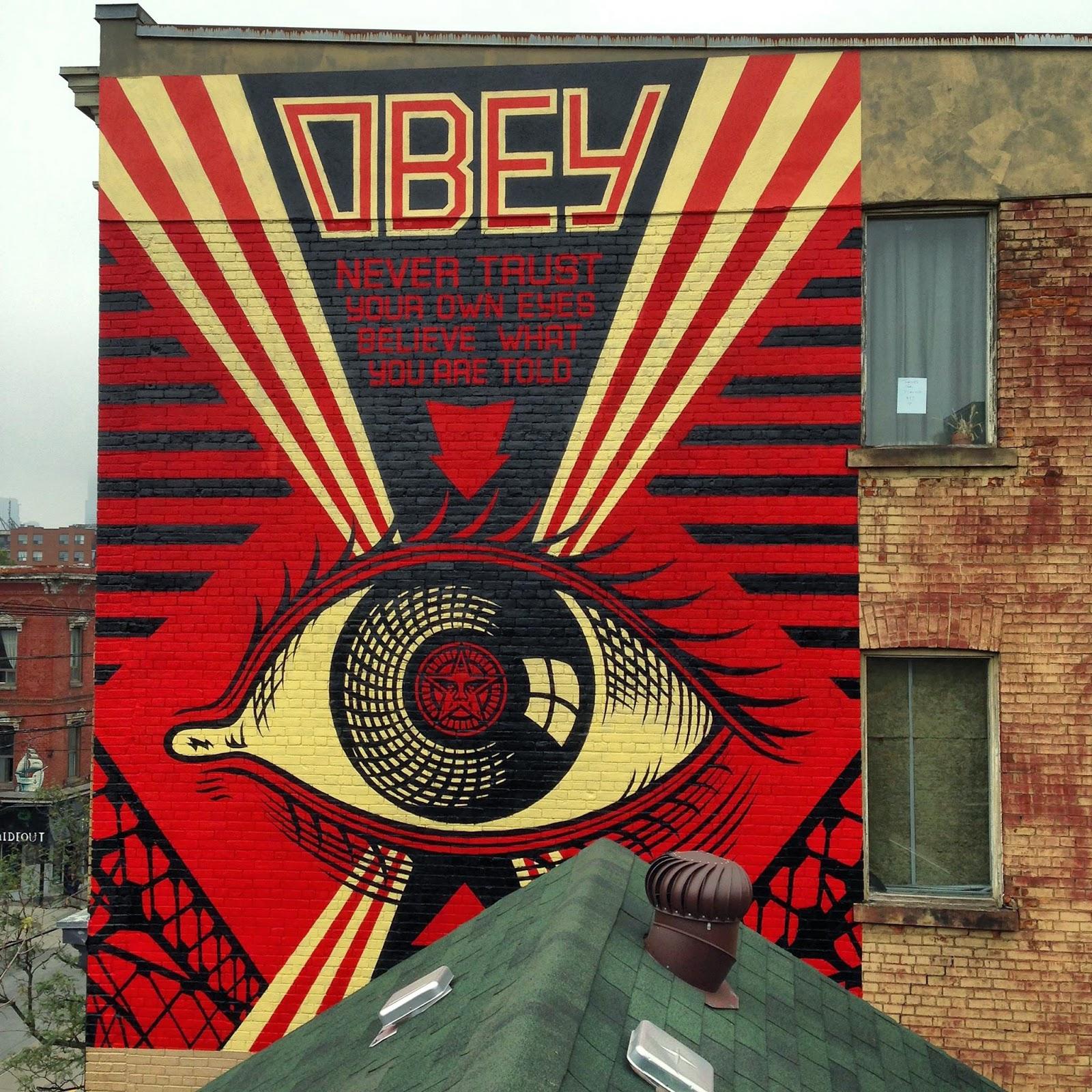 Shepard Fairey paints a series of new murals in Toronto ...