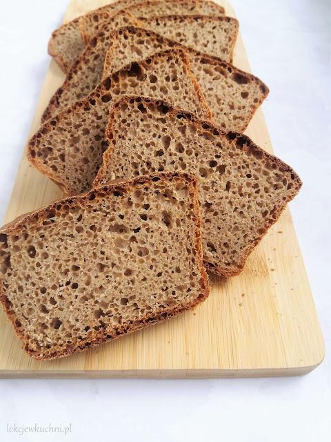 Chleb orkiszowo - gryczany przepis