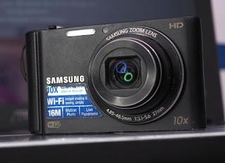 Kamera Digital Samsung ST200F Wi-Fi