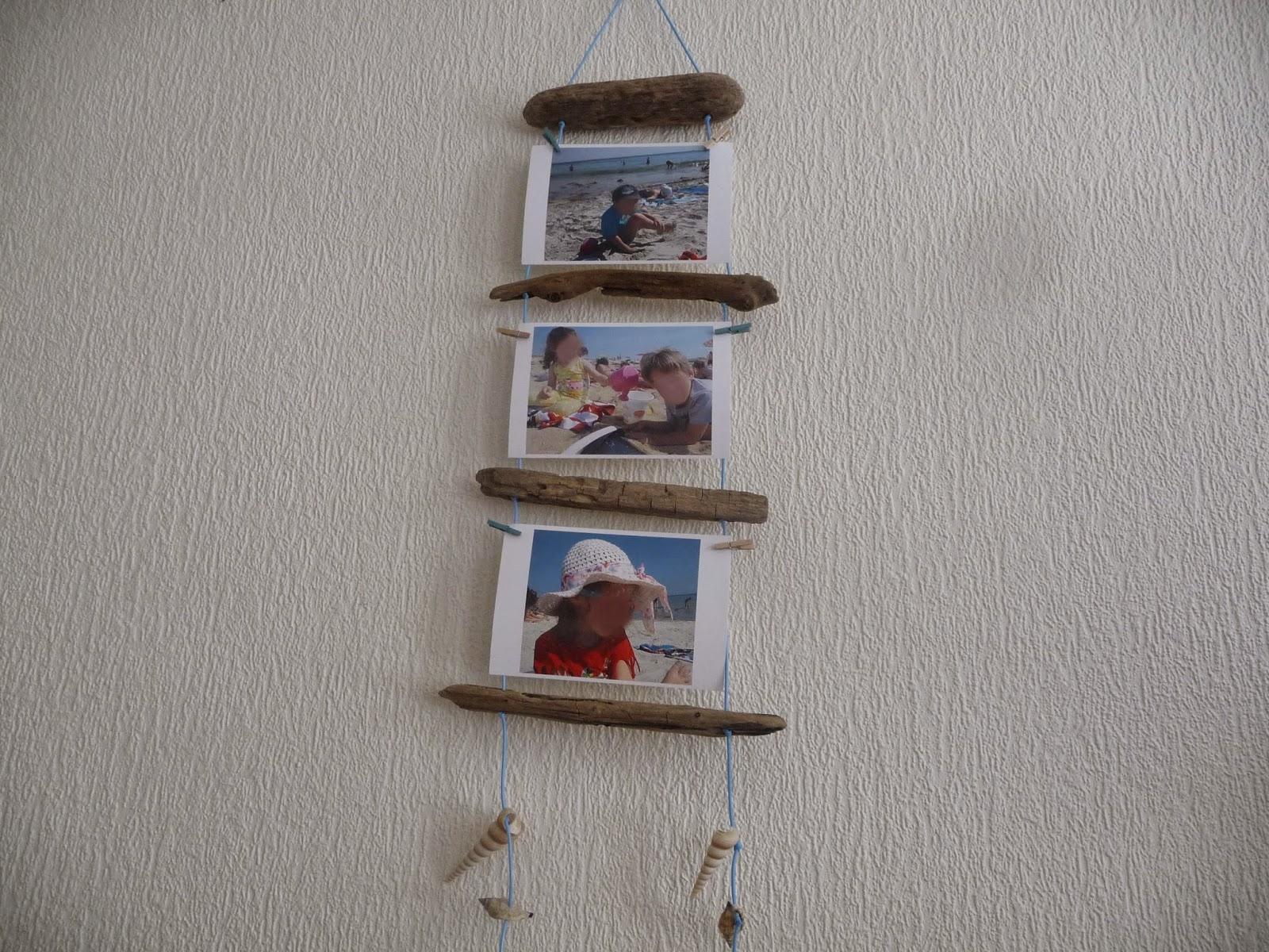 Bois Flotté Porte Photo cuillère, aiguille et scie sauteuse: porte-photos en bois flotté
