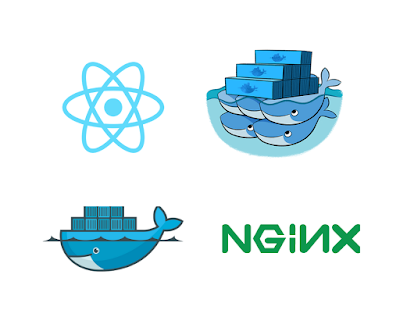 Dockerize React App with a Docker multi-staged build