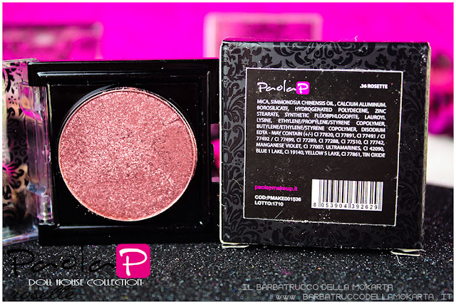 eyeshadow ombretti paolaP doll house  rosette inci