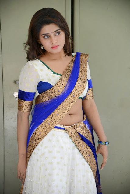 Harini actress navel show