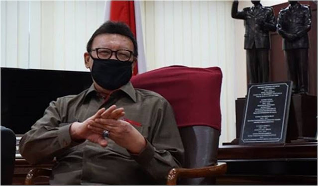 SAH! ASN Dilarang Terlibat Ormas FPI, Ini Surat Edaran Bersama Menpan RB Tjahjo Kumolo