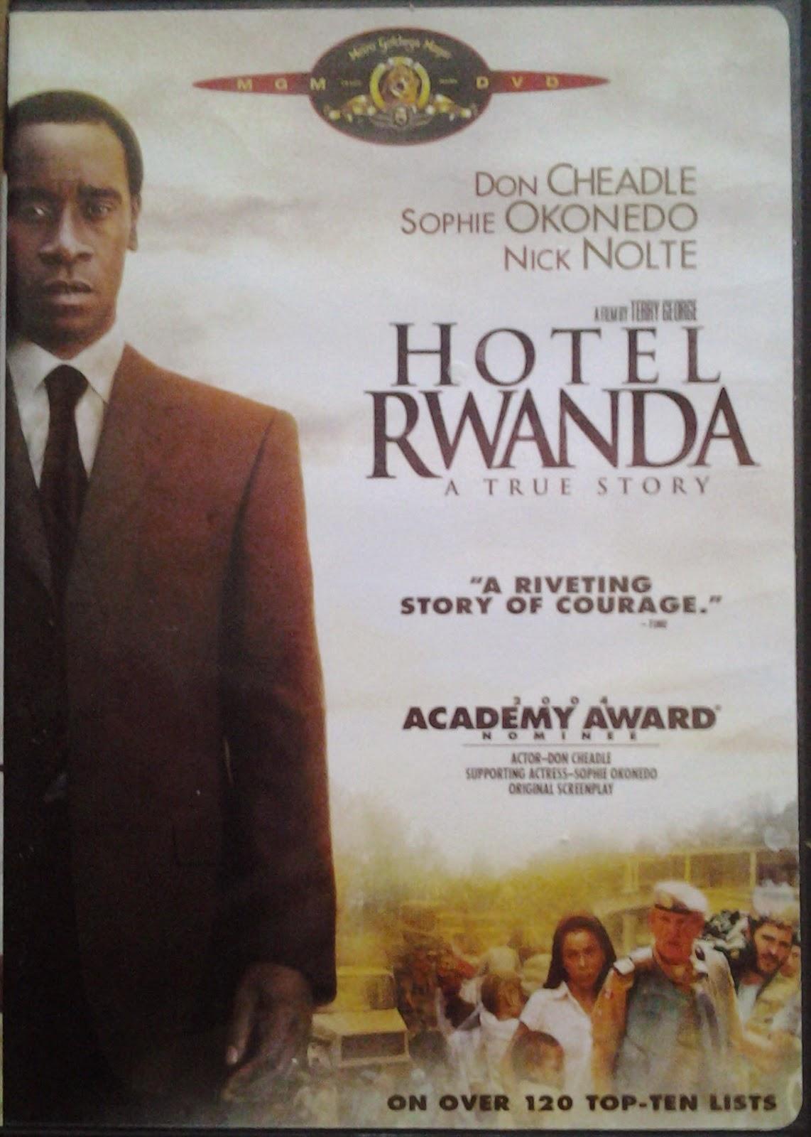 DVD Cover - Hotel Rwanda