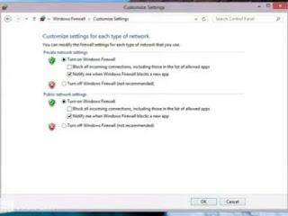 Menghidupkan dan Mematikan Windows Firewall