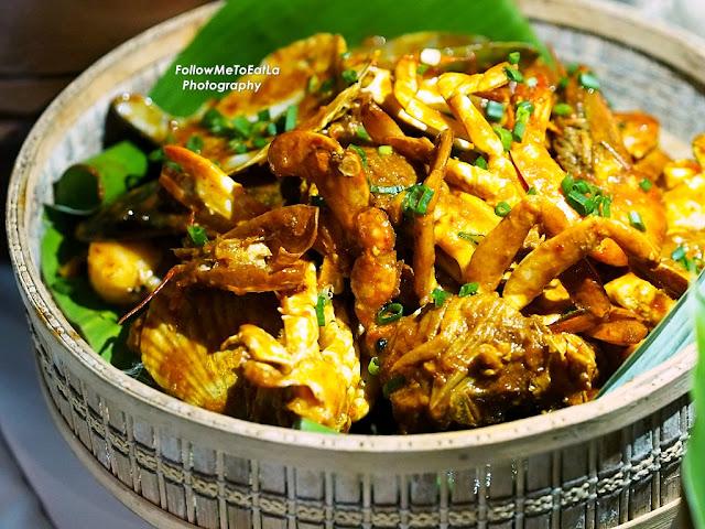 Makanan Laut - Shellout Ketam, Udang, Sotong, Kepah. Lala, Kupang & Ikan