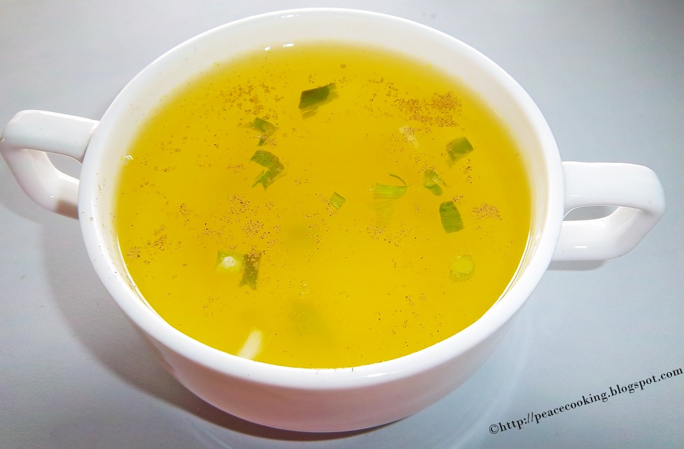 how to make clear chicken soup