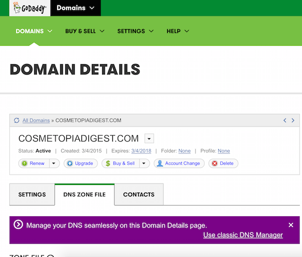 How to rebrand blogger blog, change to new domain name and redirect old url on Godaddy and eNom