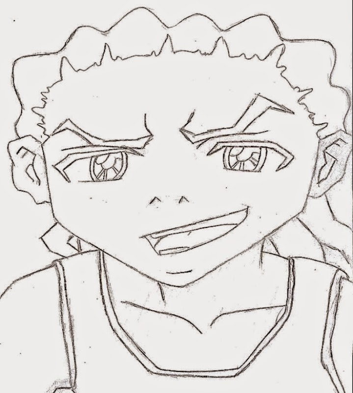 boondocks huey gangsta coloring pages