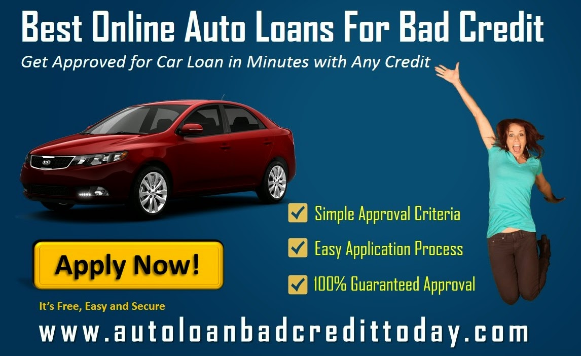 Best online car loan for bad credit
