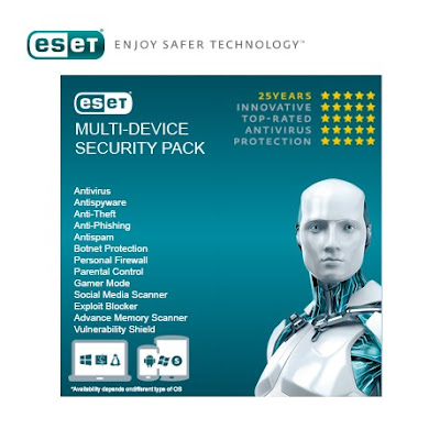 eset multi device security pack 1 year - Recensione ESET Multi-Device Security Pack
