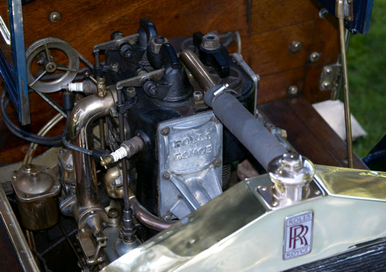 Rolls-Royce 10 hp Type A 1904 - engine