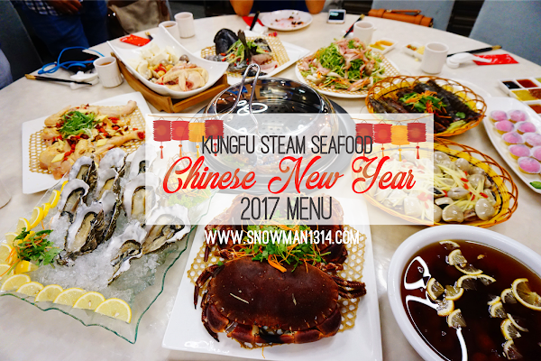 Chinese New Year Hearty Feast @ KungFu Steam Seafood Puchong