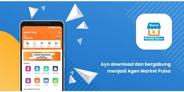 Download Apk Android Terbaru MA Mobile Topup Market Pulsa