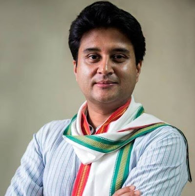 ज्योतिरादित्य स्किनडीए जीवनी - Biography of Jyotiraditya Scindia in Hindi | Hinglish Posts