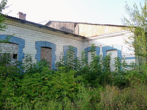 Авдеевка. Заброшенный Дом культуры железнодорожников