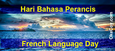 Hari Bahasa Perancis Sedunia (World French Language Day)