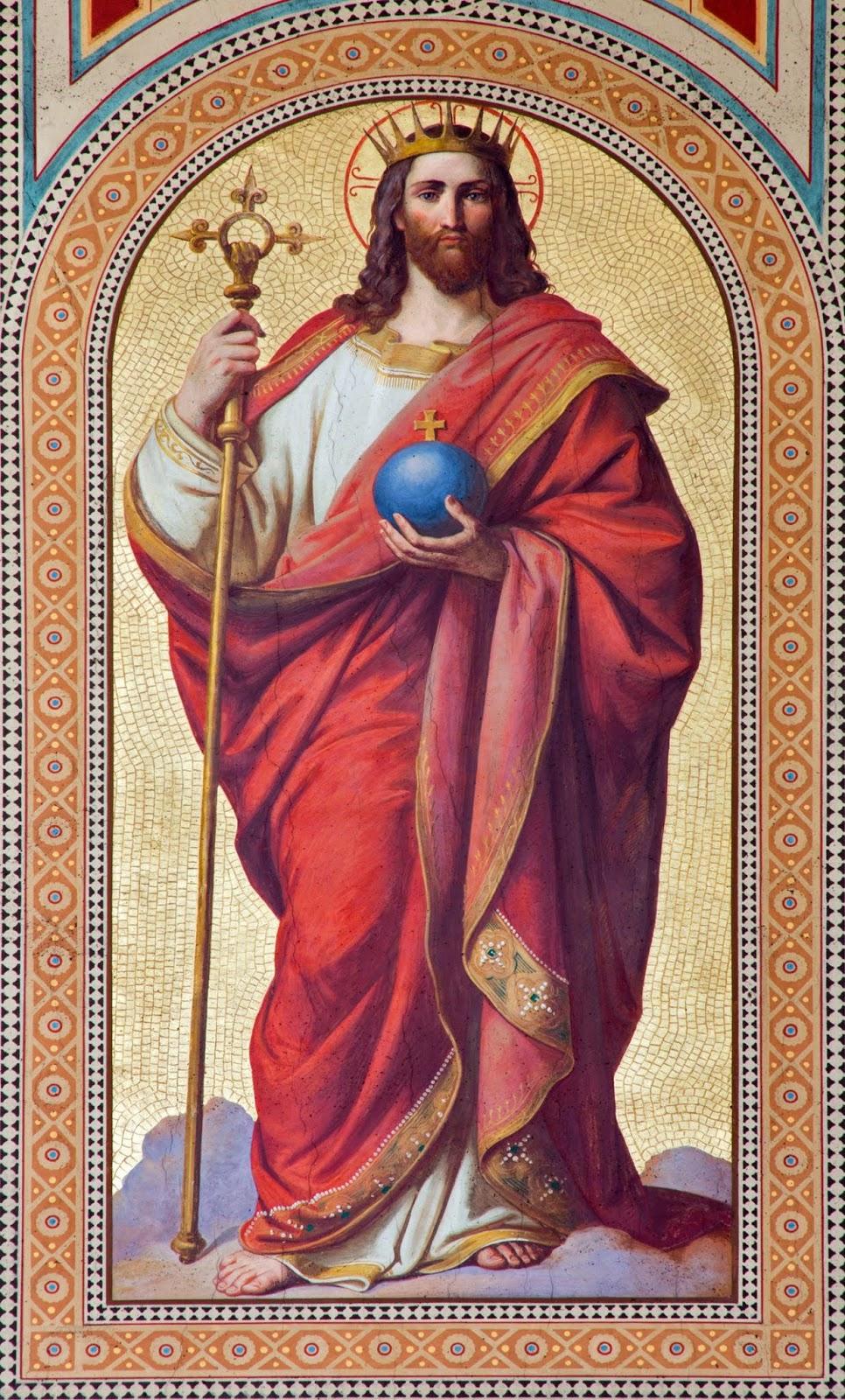 Scuola Ecclesia Mater: Atto di Consacrazione del genere umano a Cristo Re  del Sommo Pontefice Leone XIII