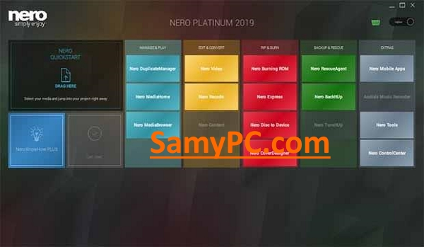 Nero Platinum 2019 Suite Free Download Full Latest Version