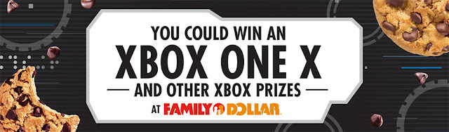 You can enter to win an Xbox One X console worth almost $500 or a Gears Of War game code in Family Dollar's new Chips Ahoy Sweepstakes!