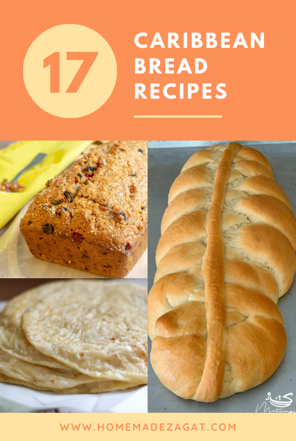 A roundup of delicious Caribbean bread recipes. Perfect to practice your baking skills.