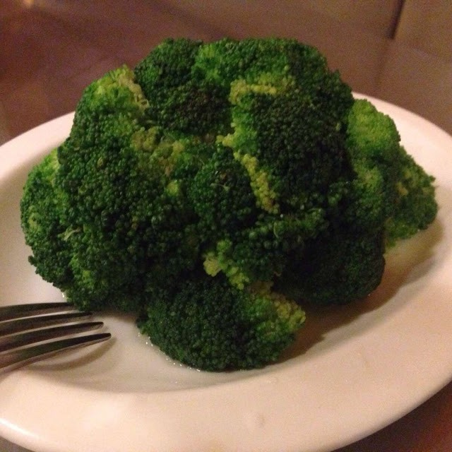 North Park's steamed broccoli