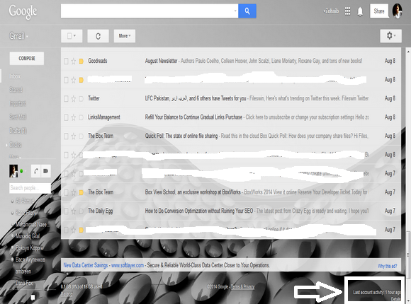 How to Track your Gmail Login Activity   Blogolect
