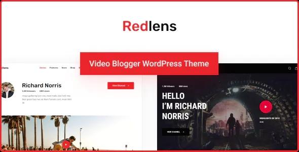 Best Video Blogger WordPress Theme