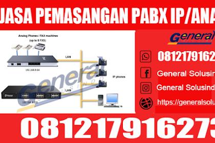 Jasa Pemasangan PABX Sampang Madura Murah