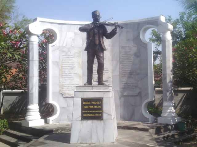 Biografi WR. Soepratman pencipta lagu Indonesia Raya