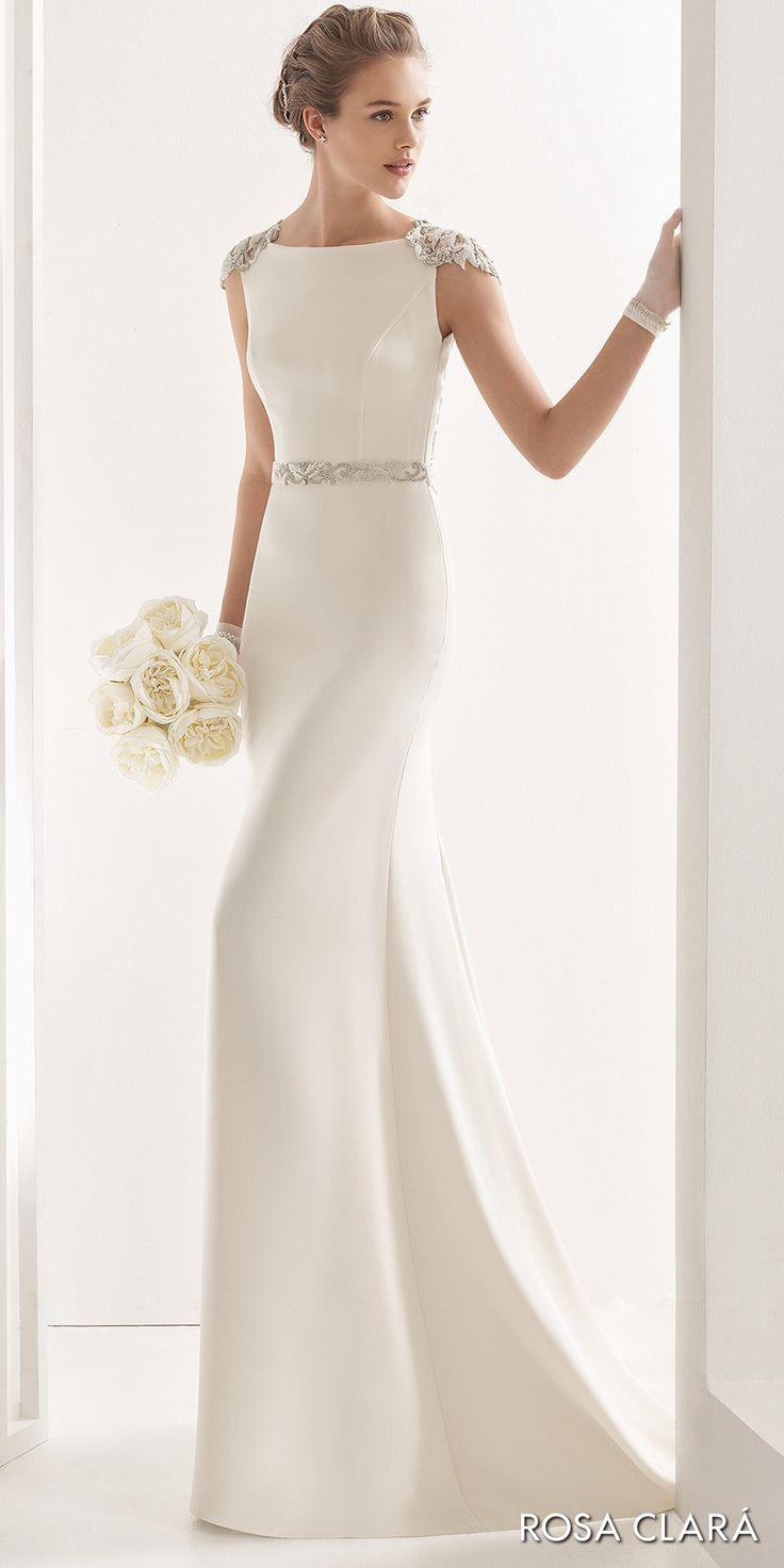 Vestidos de novia sencillos pero lindos