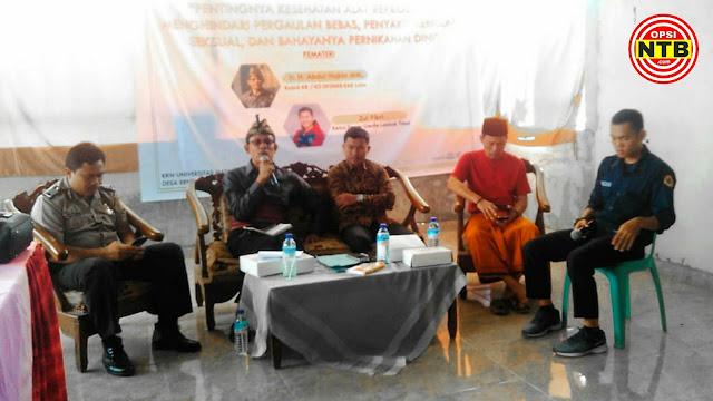 Sekretaris FKKD Lotim Harapkan Mahasiswa KKN Tinggalkan Program Nyata