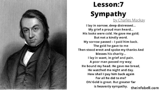 Sympathy questions and answers ,lesson 7 , class 8