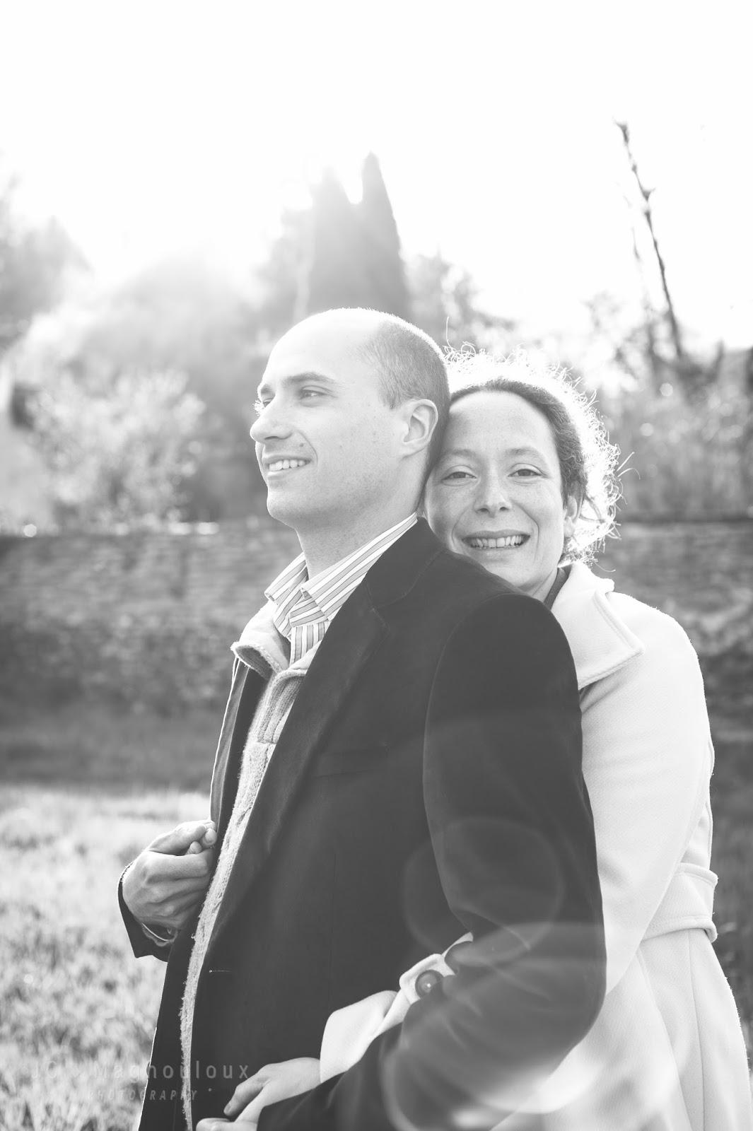 Photographe mariage Lyon Roanne abbaye benissons dieu X-PRO2