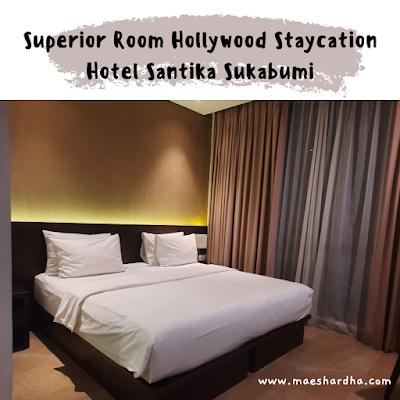 superior bedroom hotel santika sukabumi