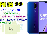 Download Rom Official / Flashing Oppo A9 (2020) Chp1937 / Cph1938 Qualcomm Lupa Password, Pola, Fix Demo Live