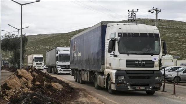 وزارة النقل السورية ترفع رسوم عبور الترانزيت عبر الحدود البرية