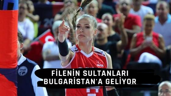 Türkiye-Çekya voleybol maçı Bulgaristan ev sahibi
