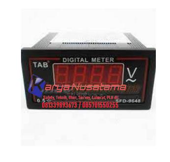 Jual Volt Meter Digital SFN-9K1-U 0 - 600VAC di Demak