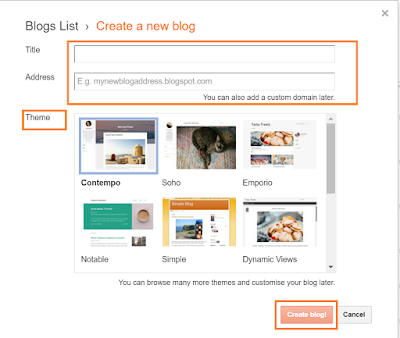 How to Create a New Blog or Website