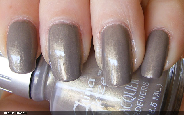 xoxoJen's swatch of China Glaze Orchid Shadow