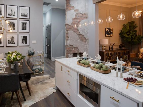 Property Brothers Take New Orleans {Kitchen Decor Inspiration