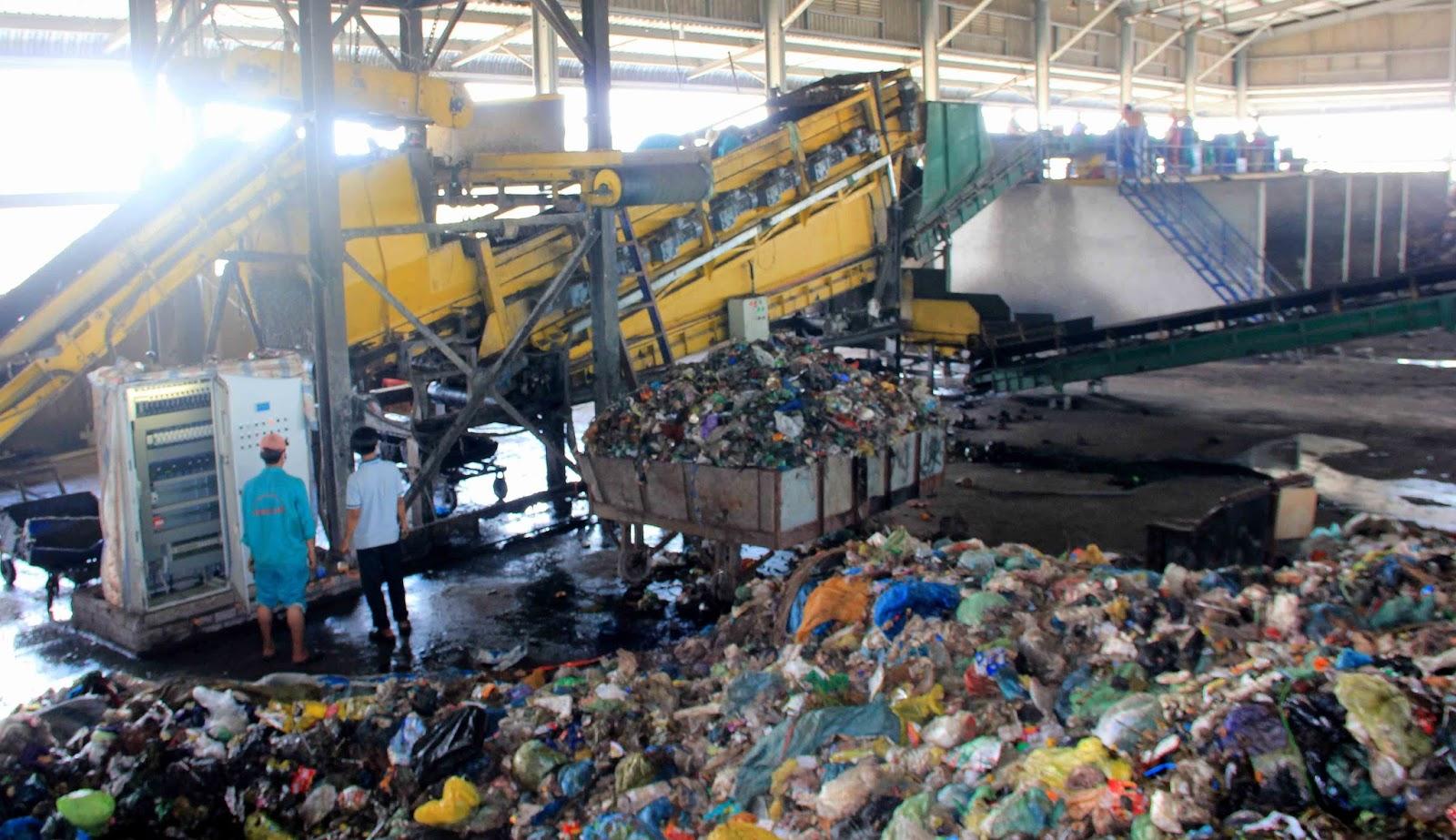 Rác thải công nghiệp ở việt nam