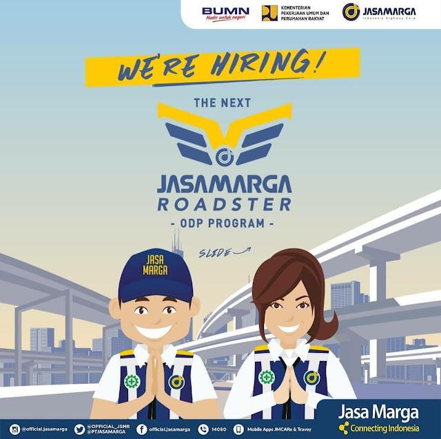 Rekrutmen Calon Karyawan BUMN PT Jasa Marga - Officer Development Program Tahun 2019