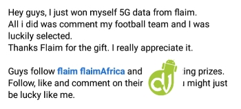 Flaim free 5gb data