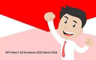 Download RPP Kelas 1 SD Kurikulum 2013 Revisi 2016