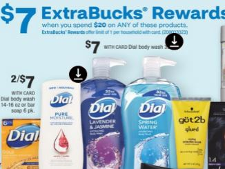 FREE Dial Body Wash CVS Deal 8/9-8/15